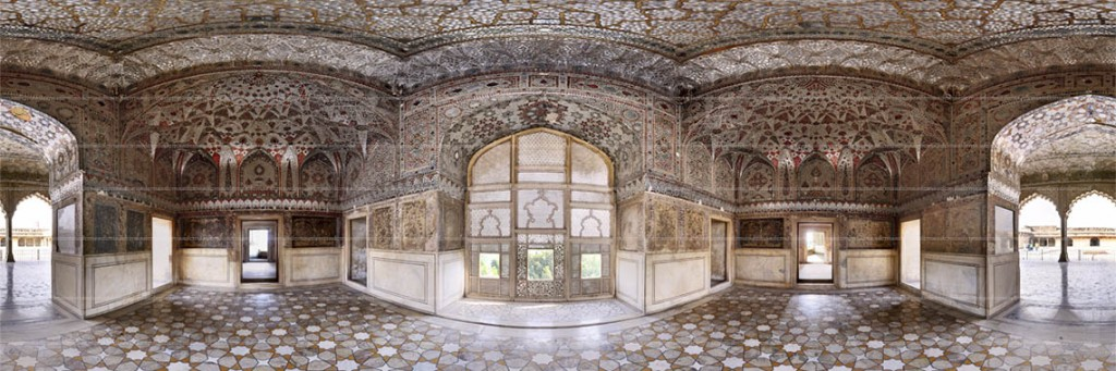 This is famous Sheesh Mahal (Palace of mirrors).